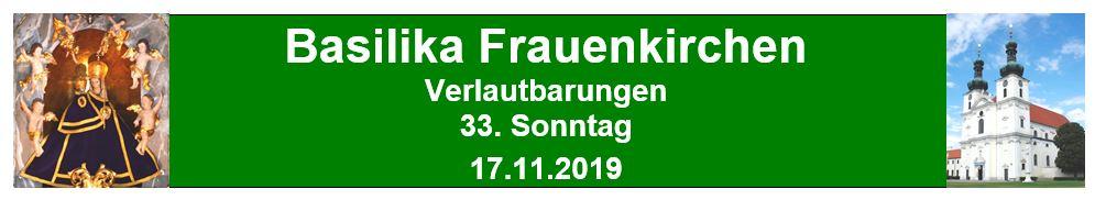Logo 33 Sonntag 2019