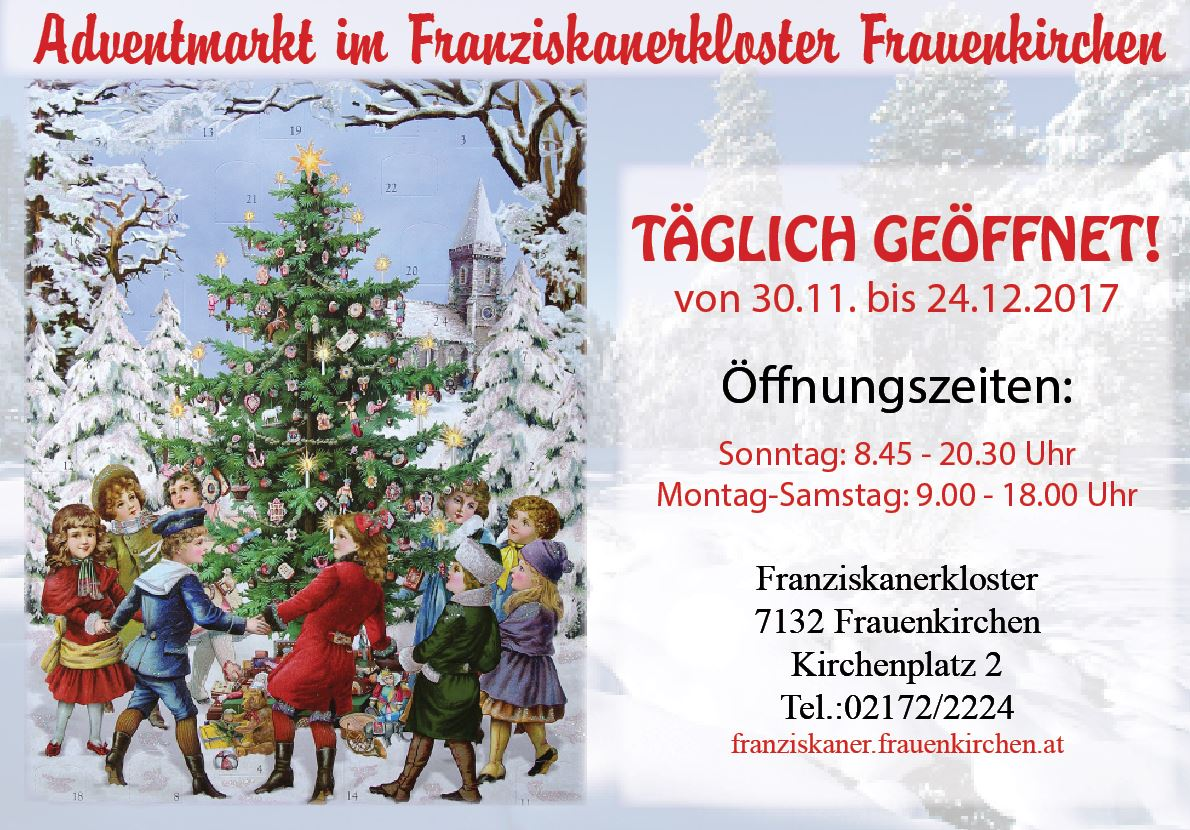 Plakat Adventmarkt 2017