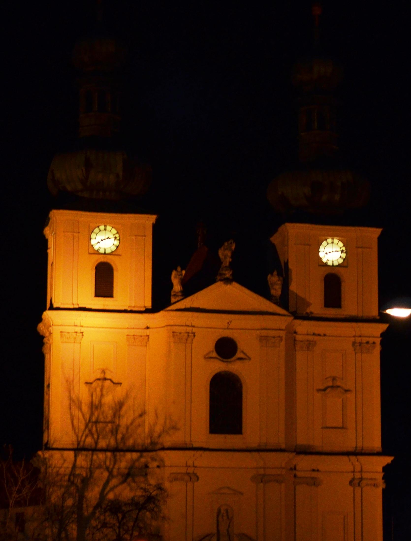 Kirche Nacht