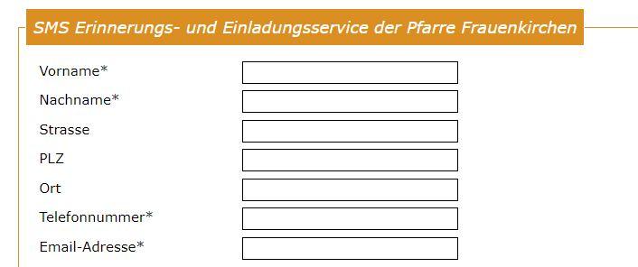 Erklärung SMS Dienst 1
