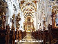Basilika Frauenkirchen Innenraum