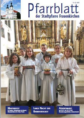 Pfarrblatt Frauenkirchen 11 12 2017
