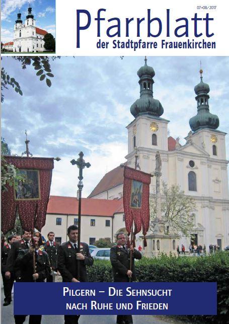 Pfarrblatt Frauenkirchen 07 08 2017